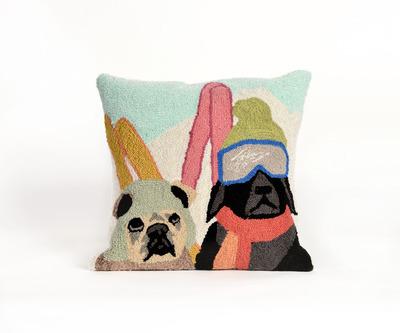 Ski Patrol Pillow
