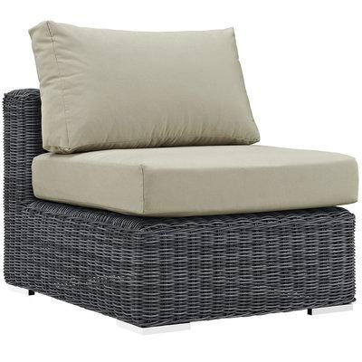 North Avenue Patio Sectional Armless with Sunbrella® Cushion
