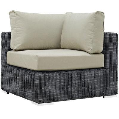North Avenue Patio Sectional Corner with Sunbrella® Cushion