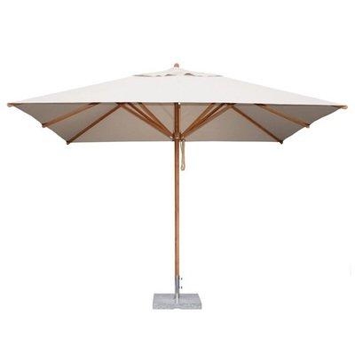 "Levante Rectangle 10.5' Market Umbrella (2"" Pole) |  10 colors"