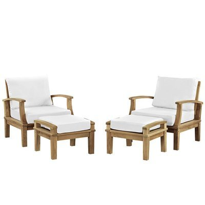 Belmont Harbor 4 Piece Seating Set