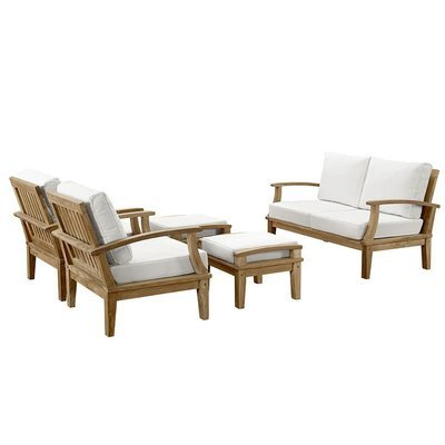 Belmont Harbor 5 Piece Seating Set