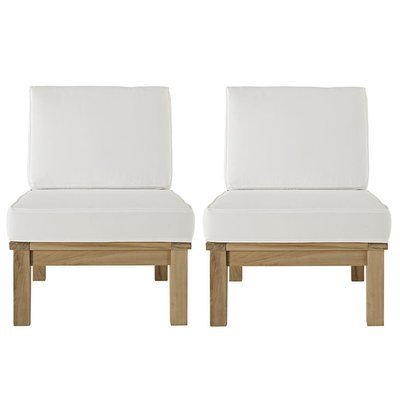 Belmont Harbor Sectional Sofa Armless Seat | Set of 2