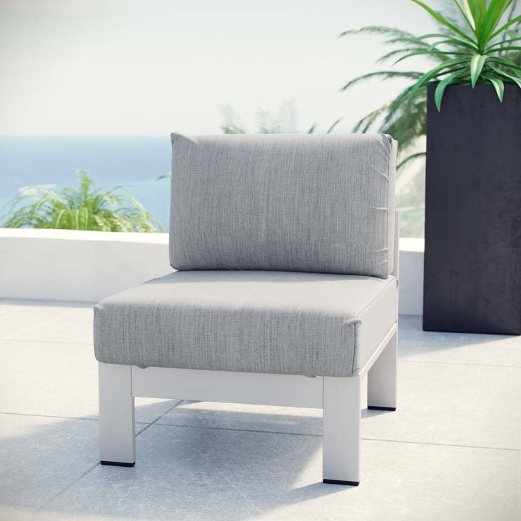 Shoreline Armless Chair