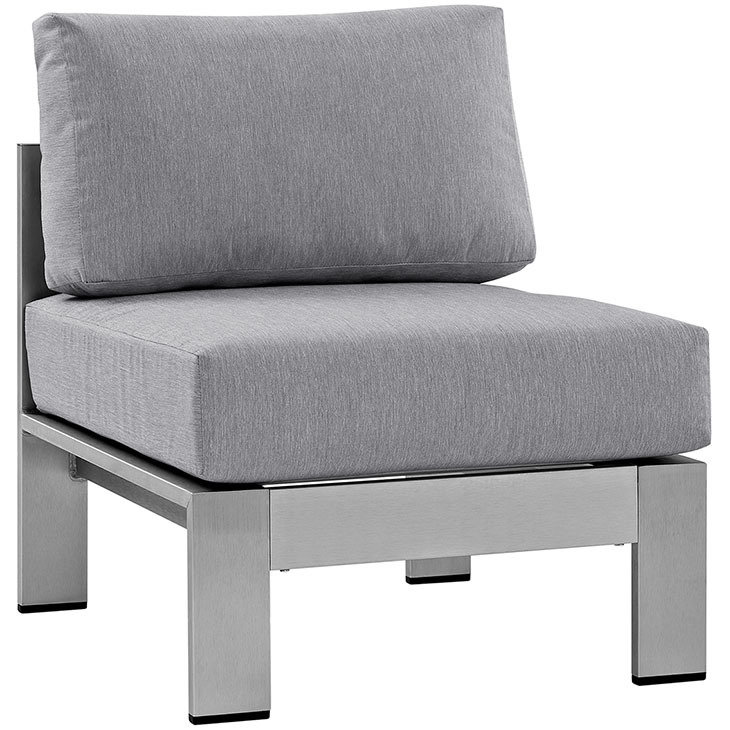 Shoreline Armless Chair