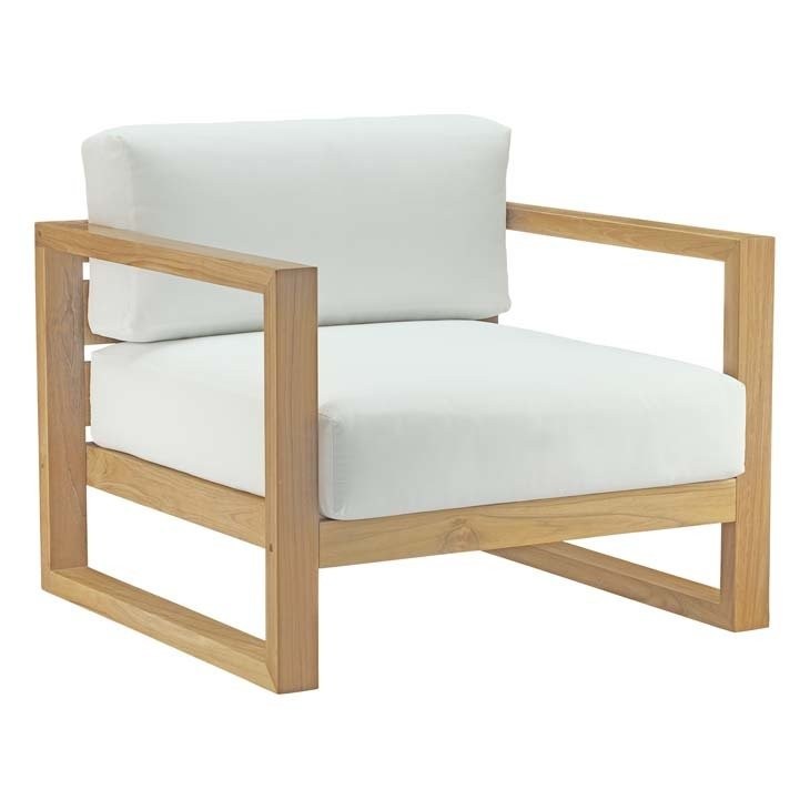 Uptown Teak Collection Armchair