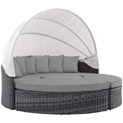 North Avenue Patio Canopy Daybed with Sunbrella® Fabric | 5 Colors