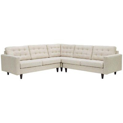 Empire 3 Piece Sectional Sofa | 5 Colors