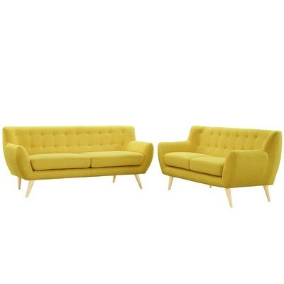 Grant Park Sofa & Loveseat Set /  4 Colors