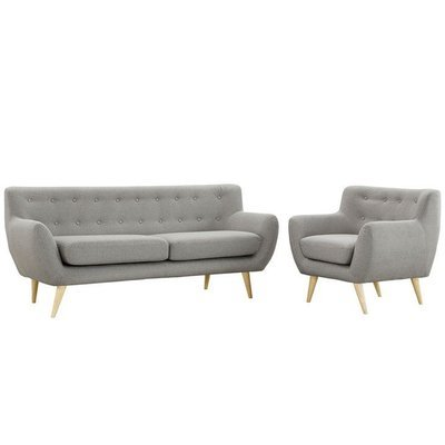 Grant Park Sofa & Armchair Set / 4 Colors