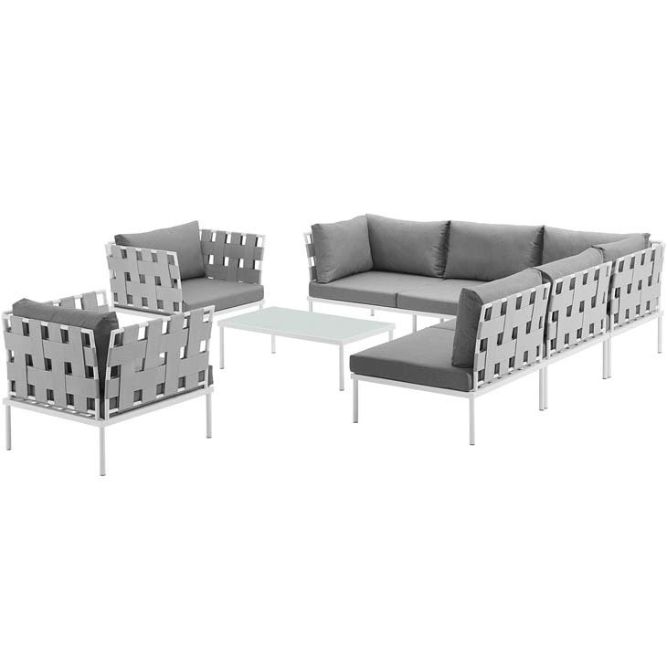 Veranda 8 Piece Conversation Set