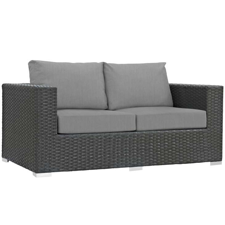 Soho Patio Loveseat with Sunbrella® Cushion