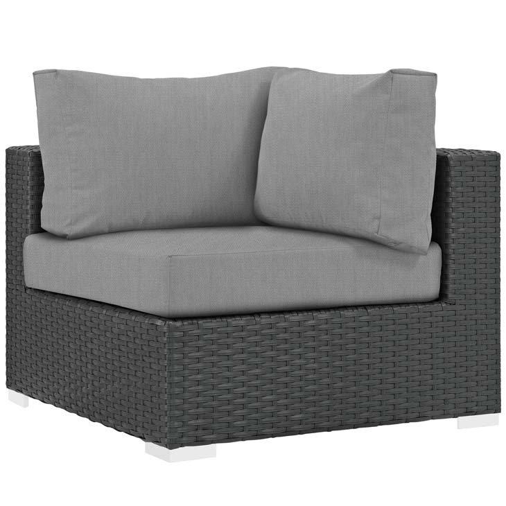 Soho Patio Corner with Sunbrella Cushion
