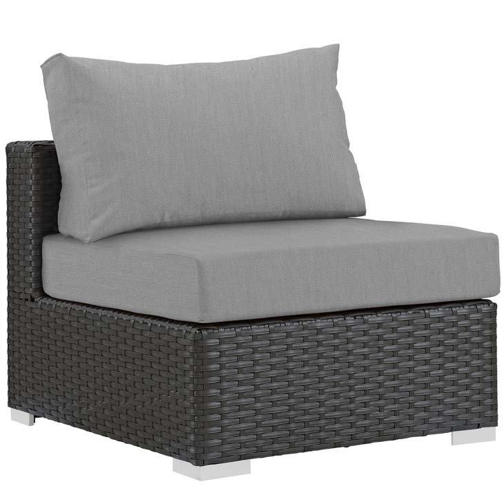 Soho Patio Armless with Sunbrella® Cushion