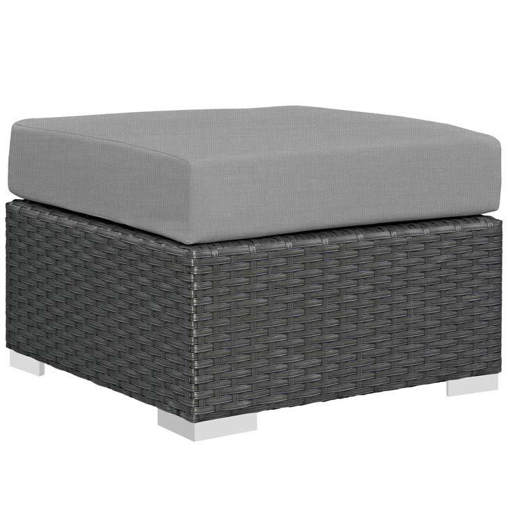 Soho Patio Ottoman with Sunbrella® Cushion