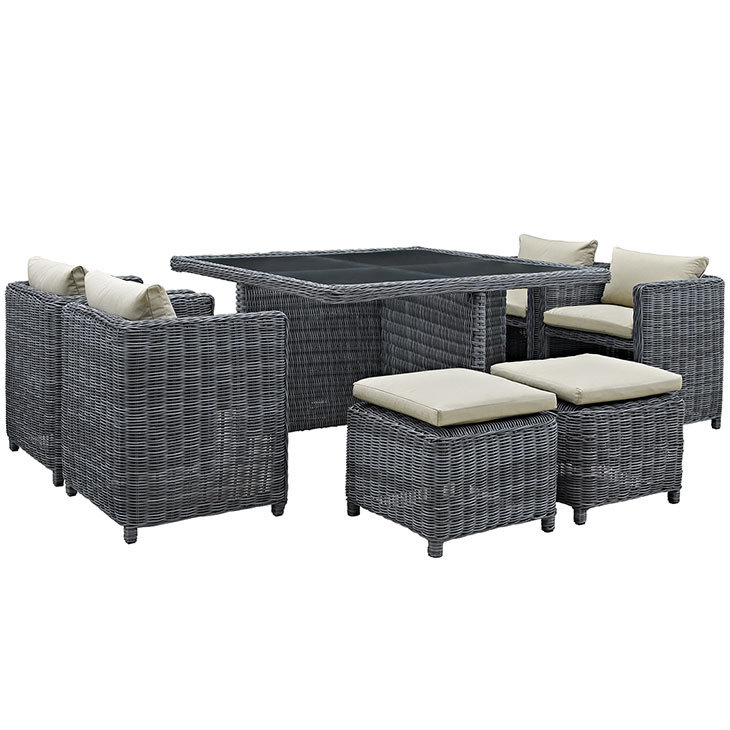 North Avenue 9 Piece Patio Dining Set