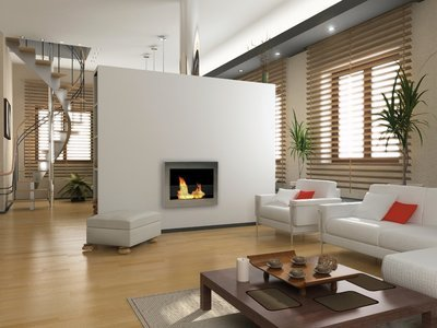 Soho Fireplace  /  3 Finishes