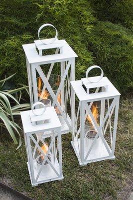 White Colonial Lantern