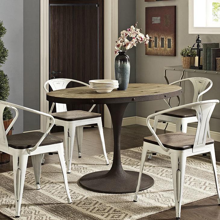 "Brickyard 47"" Oval Wood Dining Table"