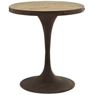 """Brickyard 28"""" Round Wood Dining Table"""