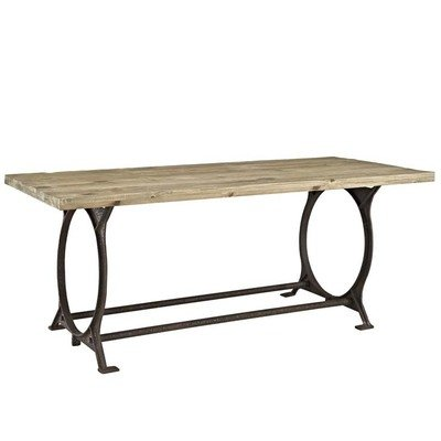 Artisan Rectangle Wood Top Dining Table
