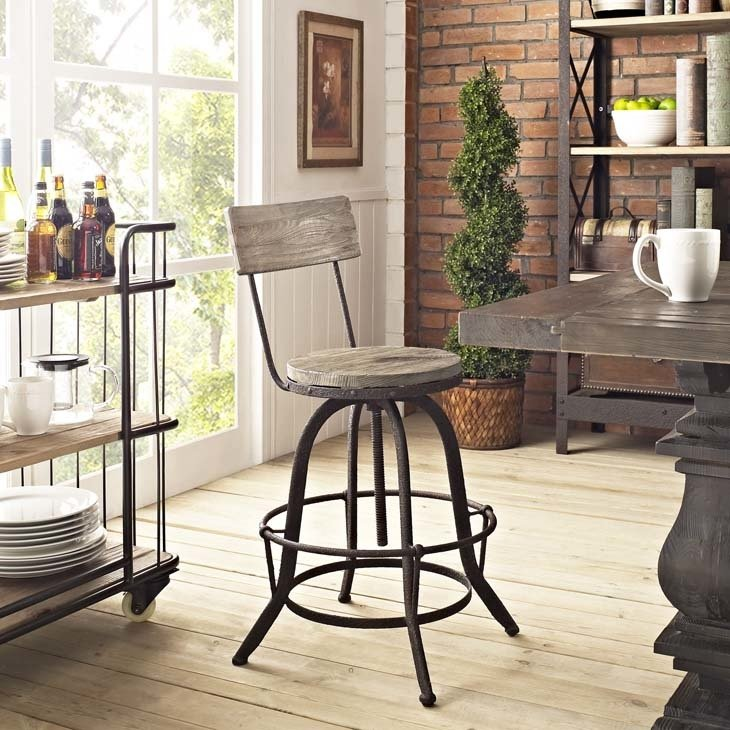 Scully's Bar Stool | 2 Color Options