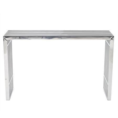 Gaines Silver Console Table