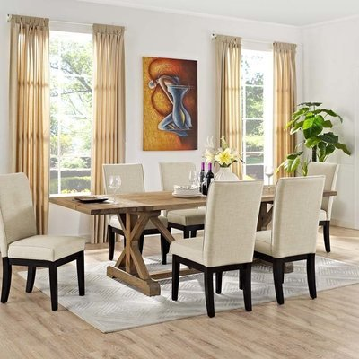 Duke Extendable Wood Dining Table