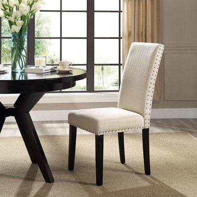 Duchess Fabric Dining Chair | Grey or Beige