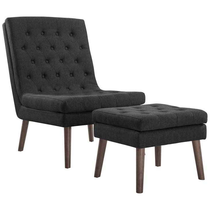 Adapt Lounge Chair & Ottoman   5 Colors