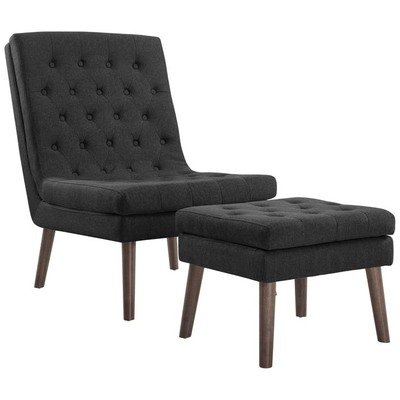 Adapt Lounge Chair & Ottoman | 5 Colors
