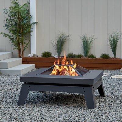 Breton Wood Burning Firepit