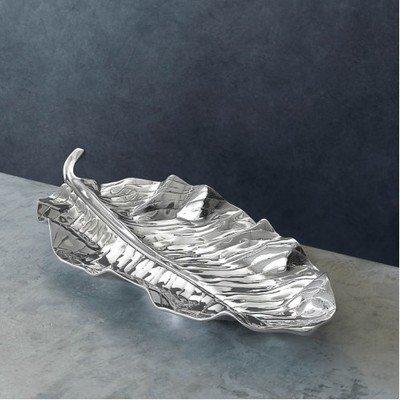 Zebra Leaf Platter / Set of 2
