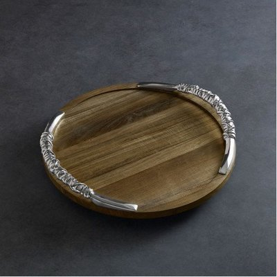 Soho Lazy Susan with Handles