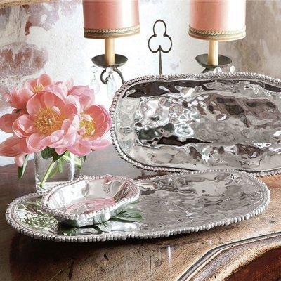Organic Pearl Small Tray | Set of 2