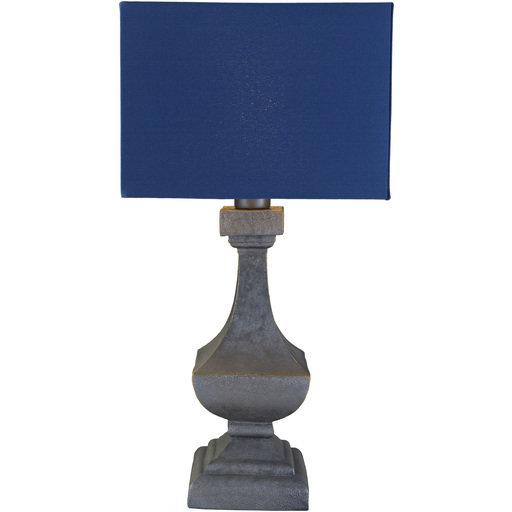 Davis Outdoor Table Lamp   Navy