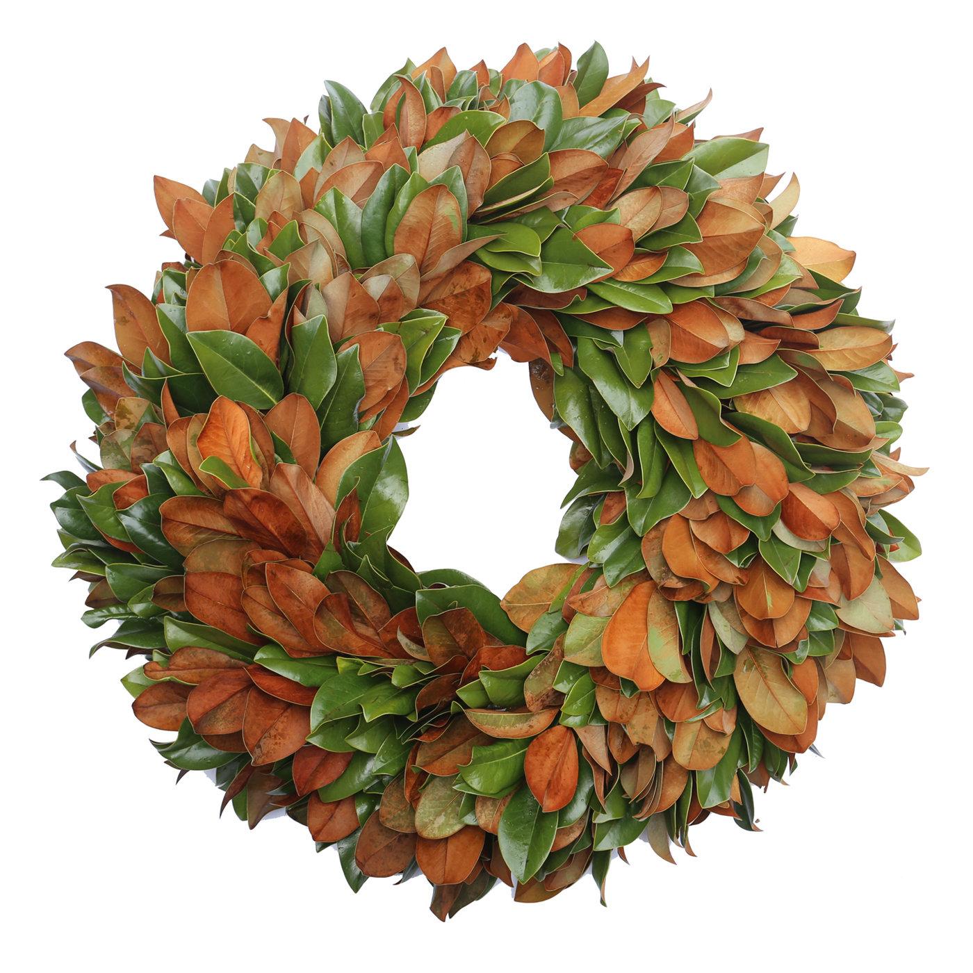 """Magnolia Velvet 42"""" Wreath"""