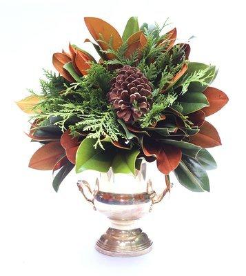 Magnolia Emerald Lace Longleaf Bouquet