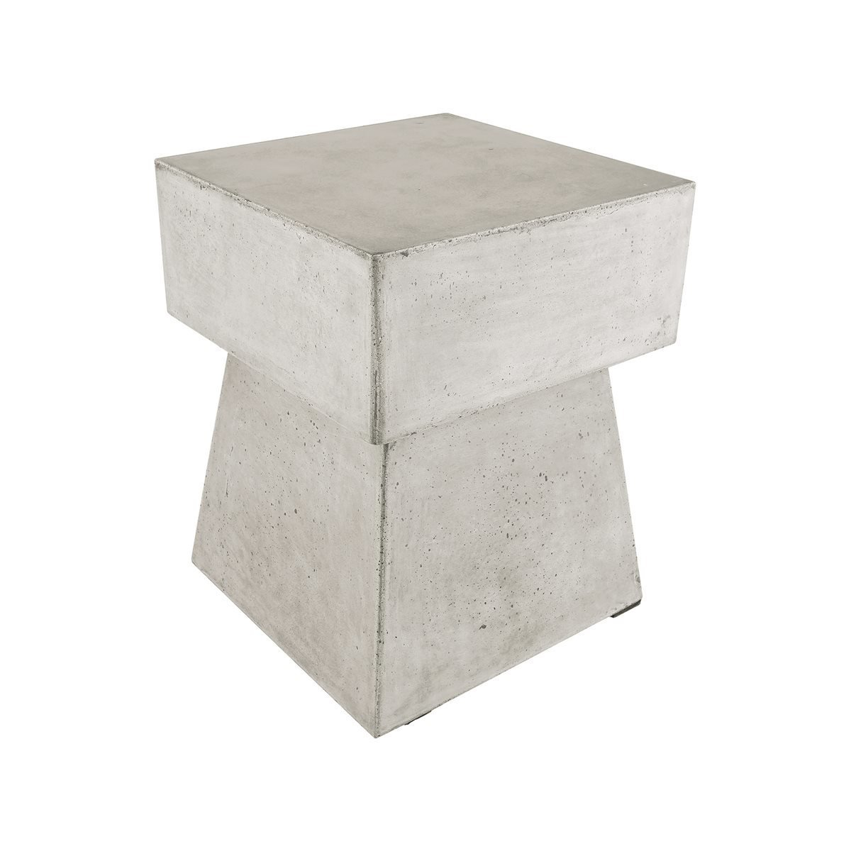Mushroom Stool in Polished Concrete