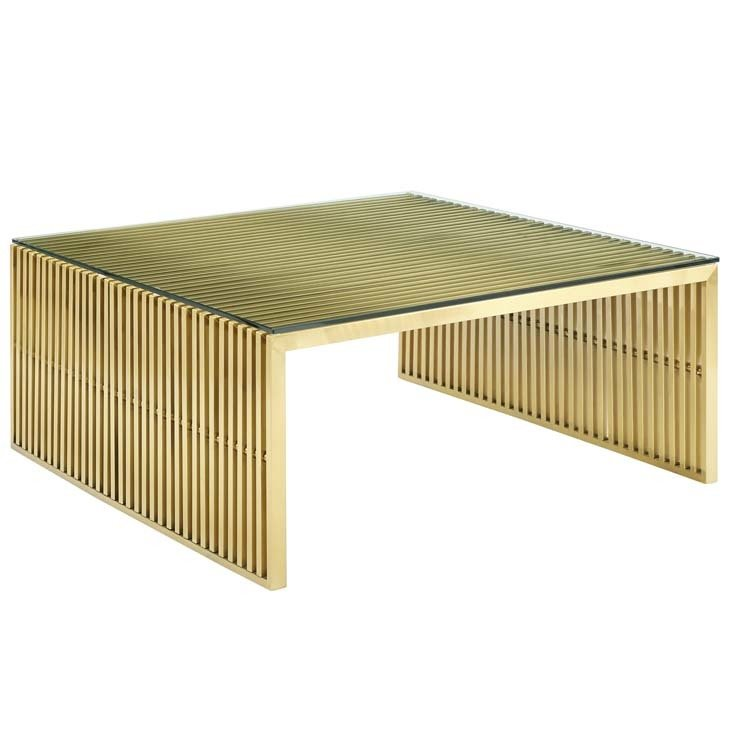 Gaines Coffee Table / Gold