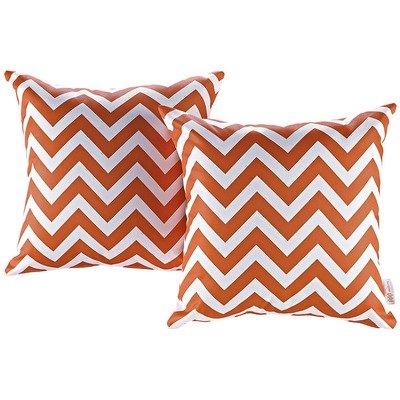 Chevron 2 Piece Outdoor Pillow Set 17