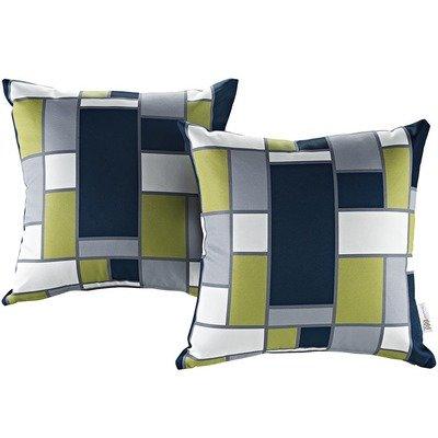 Rectangle 2 Piece Outdoor Pillow Set 17