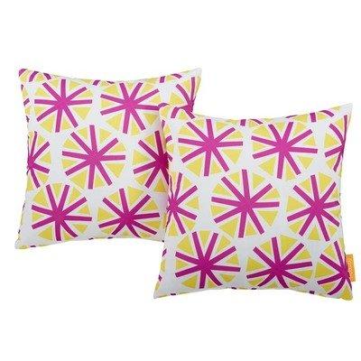 "Starburst 2 Piece Outdoor Pillow Set 17"" x 17"""