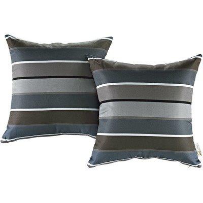 Stripe 2 Piece Outdoor Pillow Set 17