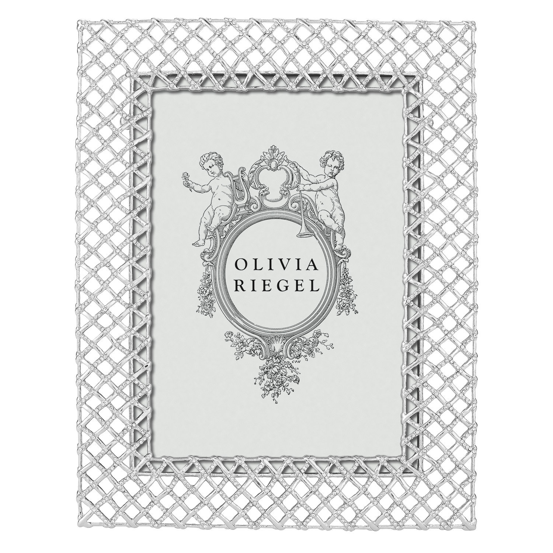 Olivia Riegel Silver Tristan 5 x 7 Frame