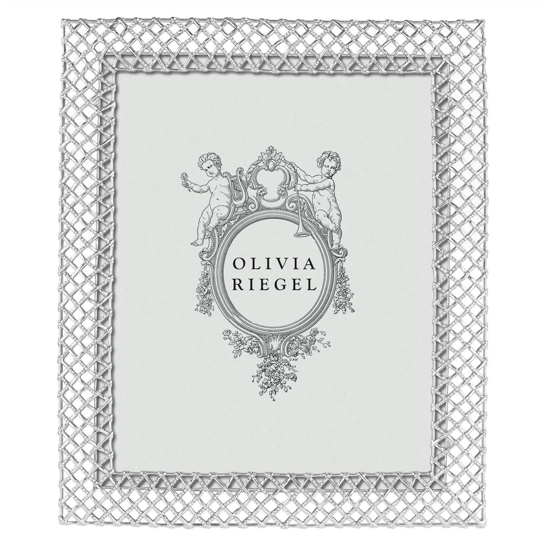 Olivia Riegel Silver Tristan 8 x 10 Frame