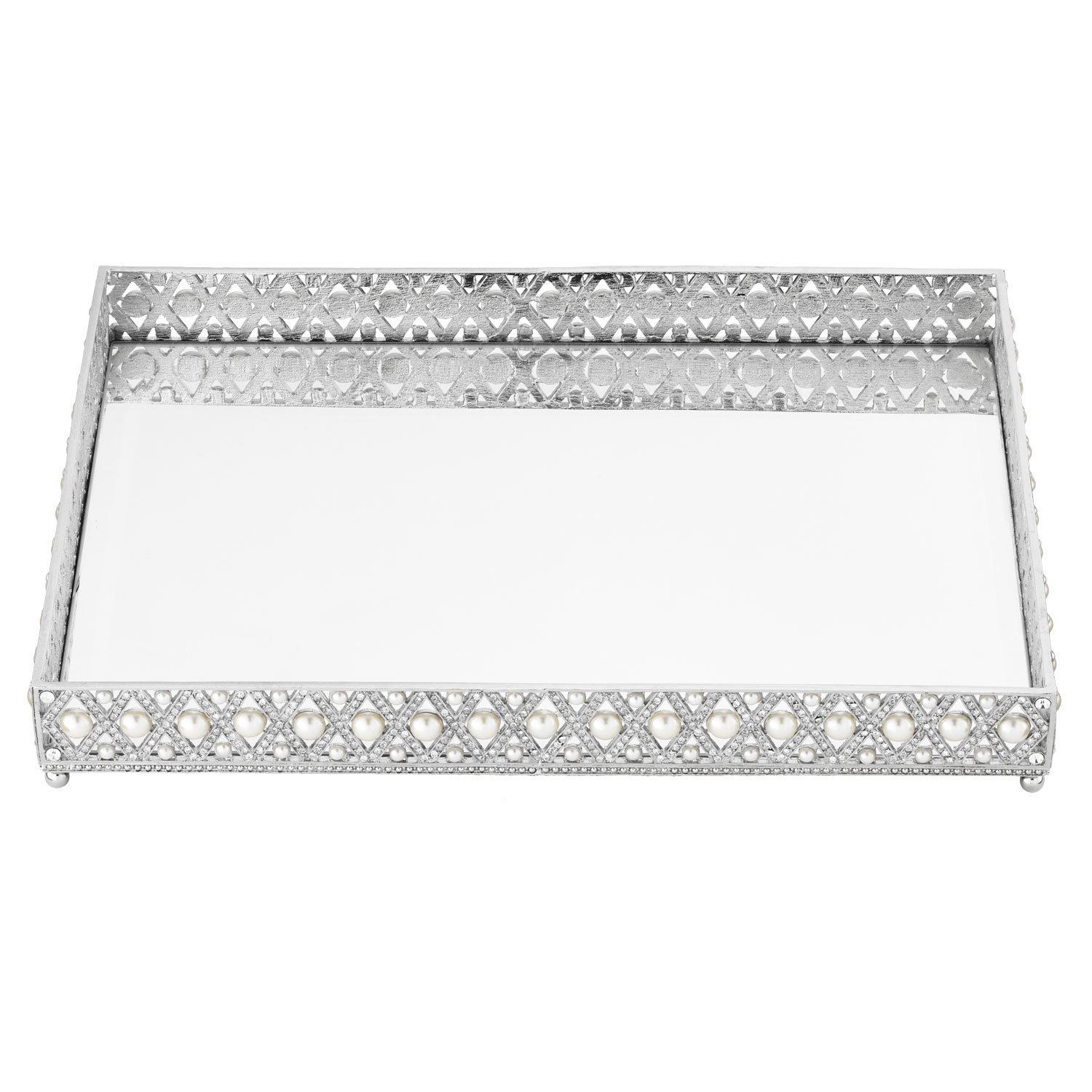 Olivia Riegel Large Silver Tray
