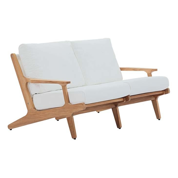 Gold Coast Teak Wood Loveseat