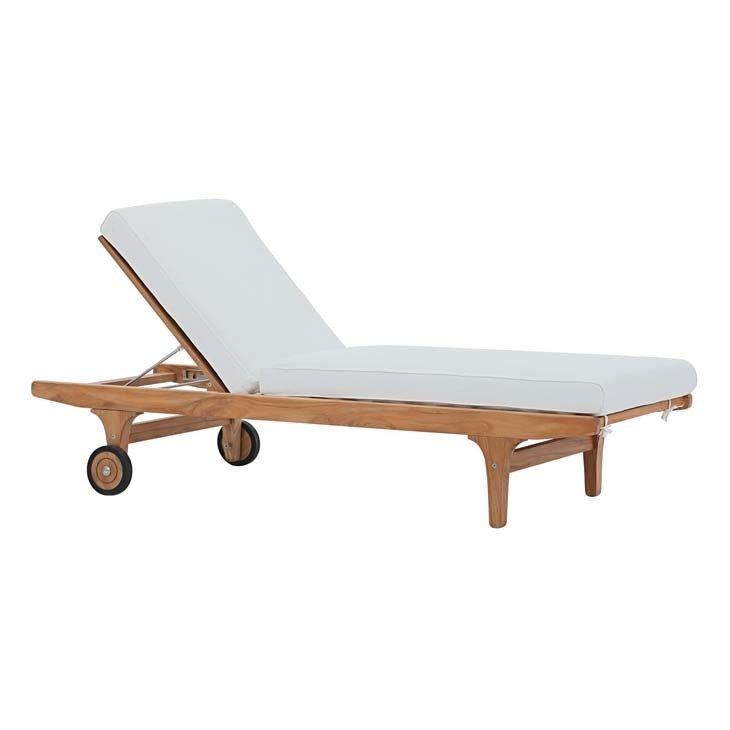 Gold Coast Teak Wood Lounge Chair
