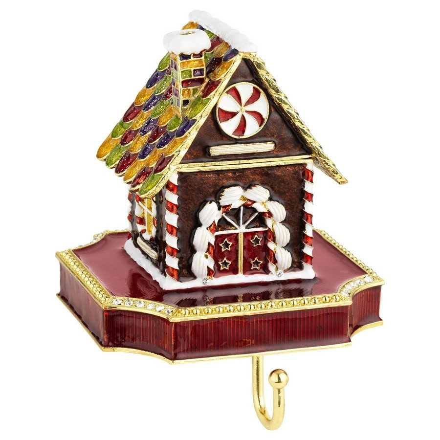 Olivia Riegel Gingerbread Box Stocking Holder